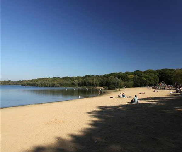 Ruislip Lido on the doorstep of Solis Apartments